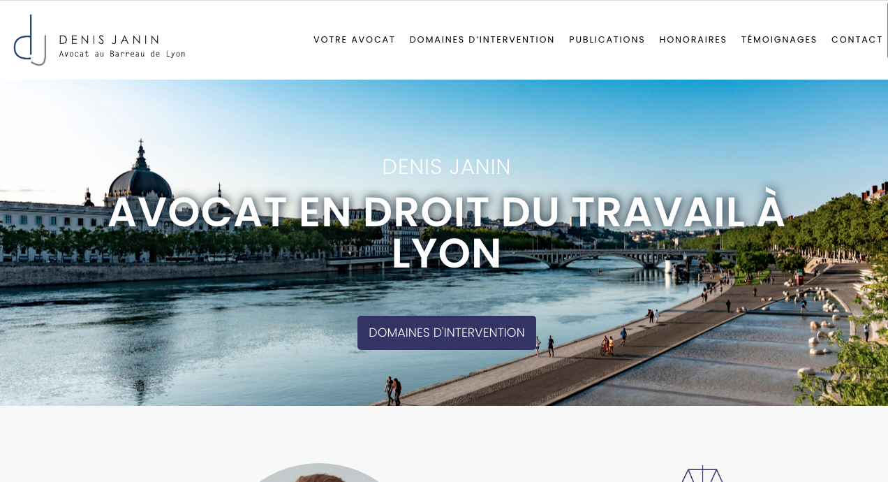 Denis Janin Avocat - Home Page